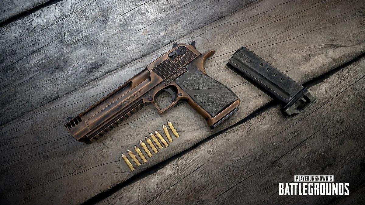 PUBG Update #30 Brings Deagle Handgun, BRDM-2 Vehicle, Radio Message, and More