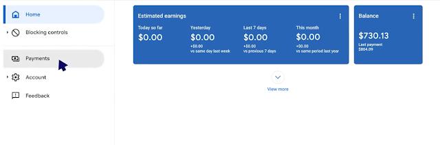 ضرائب جوجل ادسنس