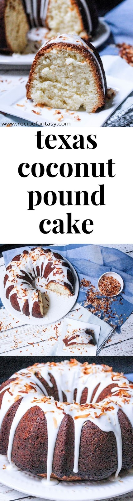 Texas Coconut Pound Cake
