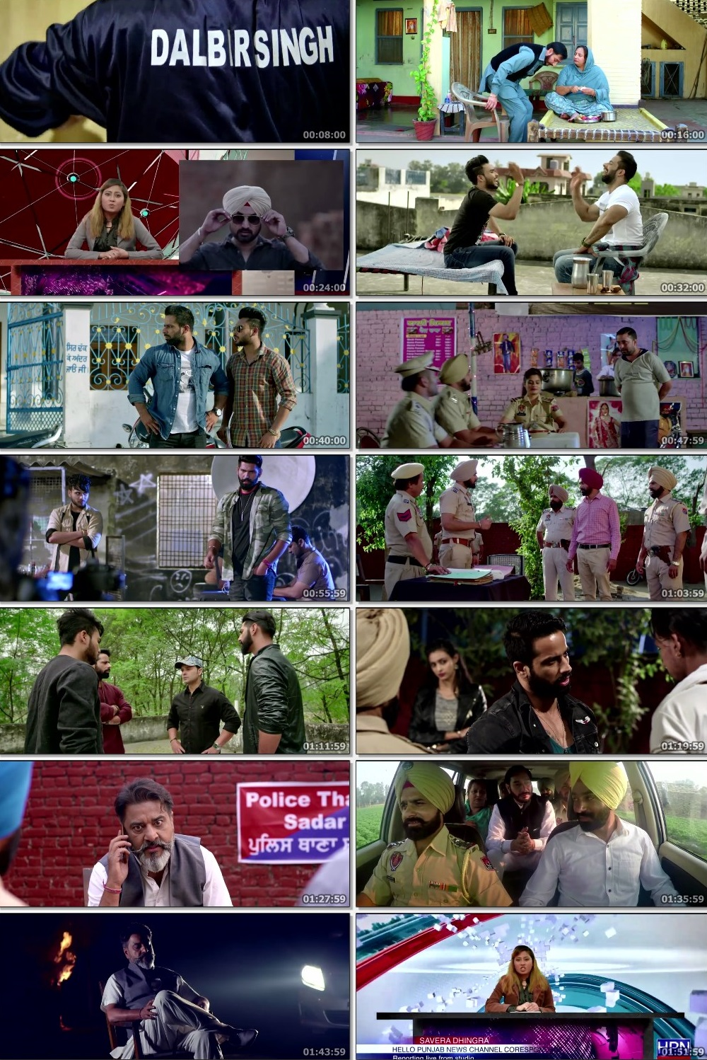 Screen Shot Of Gangster vs State 2019 Full Movie Free Download HD 720P Watch Online