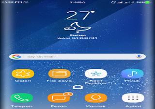 2 Cara mengubah Tampilan android seperti Galaxy S8 Disemua android (Root dan Non Root) Terbaru