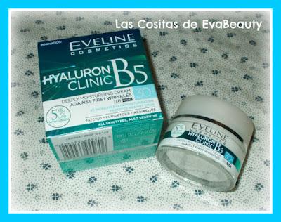Crema facial con ácido hialurónico 30+ de Eveline Cosmetics