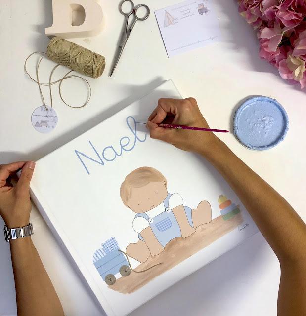 álbum fotos infantil personalizado regalo bebé