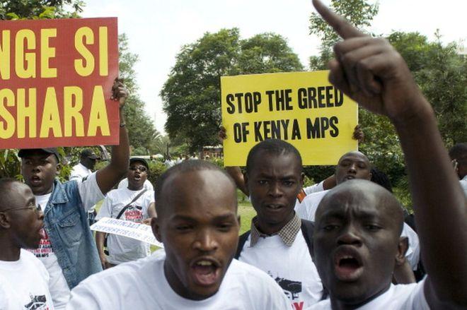 Kenyan MPs to get 15% pay cut