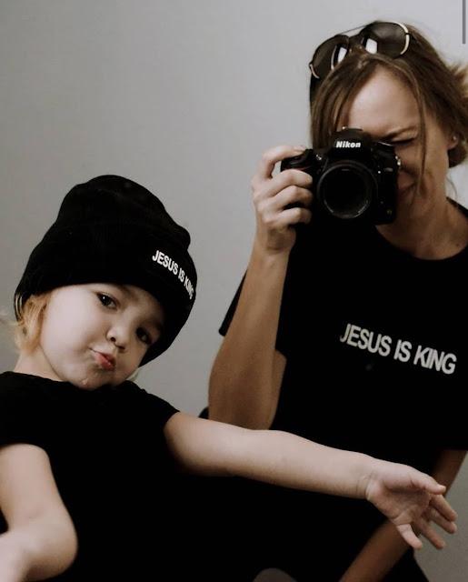 J+N=E Brand JESUS IS KING Tee