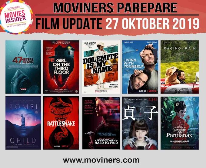 FILM UPDATE 27 OKTOBER 2019