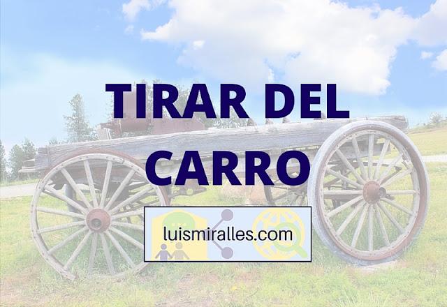 TIRAR DEL CARRO