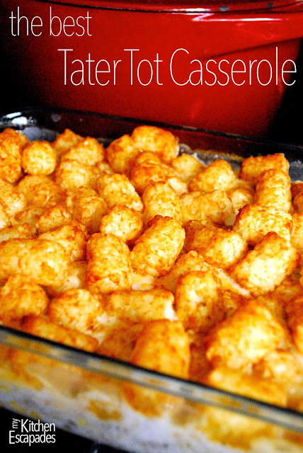 The Best Tater Tot Casserole | Red White Apron