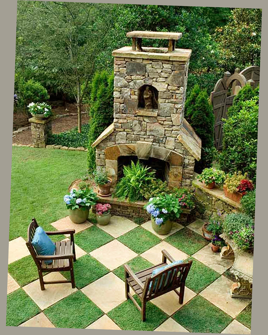 Amazing patio ideas for backyard and small yards ellecrafts for Small patio design plans