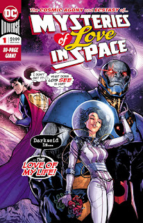 Mysteries of Love in Space #1 cover from DC Comics