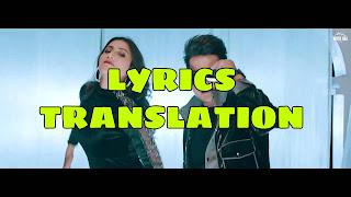 Fielding Lyrics Meaning/Translation in Hindi – Sukh Deswal | Kanchan Nagar