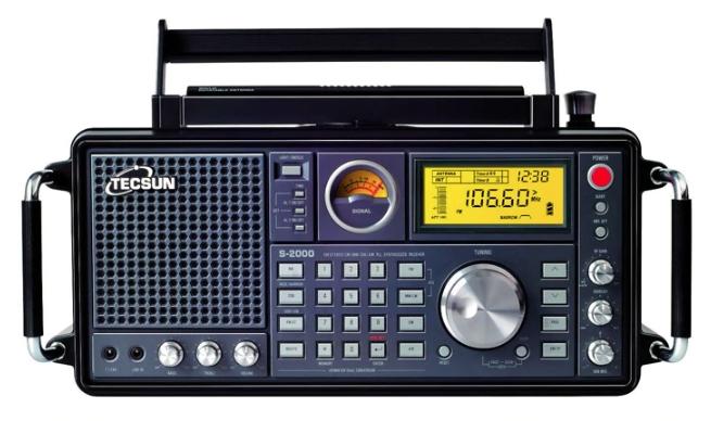 Tecsun S-2000 2 канала Цифровая настройка Настольный любительский радиоприемник SSB Двойное преобразование PLL FM/MW/SW/LW Air полный диапазон ручная сборка
