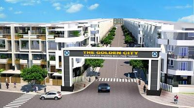 Mua Bán Đất nền Dự án Golden City Long Thành