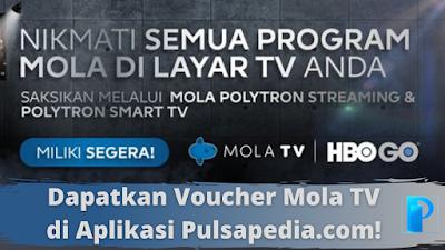 Cara Redeem Kode Voucher Mola TV