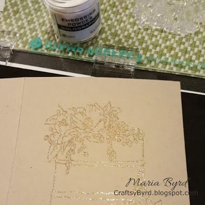 Concord & 9th - Wedding Card by Maria Byrd, 082018 | CraftsyByrd.blogspot.com | Happy Day Dies Stamp detail