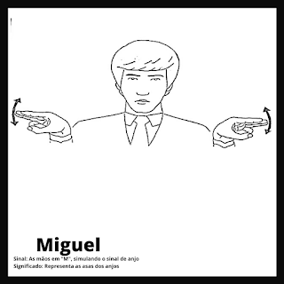 Sinal de Miguel da bíblia