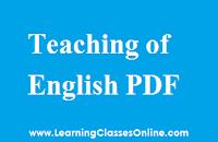 Pedagogy of ENGLISH notes, Pedagogy of ENGLISH book, Pedagogy of ENGLISH pdf, Pedagogy of ENGLISH material, Pedagogy of ENGLISH , Pedagogy of ENGLISH ebook, Pedagogy of ENGLISH b.ed,