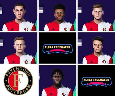 PES 2021 Feyenoord Facepack by Alfra