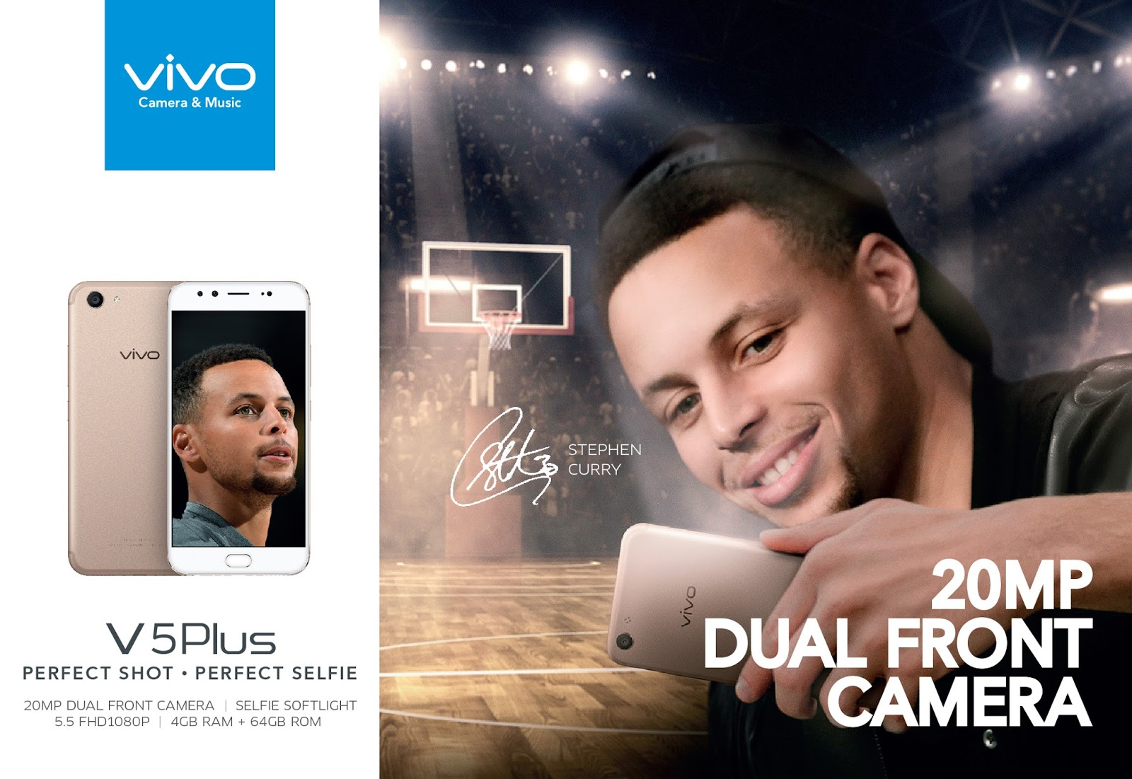 Vivo Philippines Launches the Vivo V5 Smartphone ~ Kagay