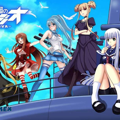 Arpeggio of Blue Steel Ars Nova Audio Español Latino 12/12 | MEGA | | MediaFire | AnimesMG.Net