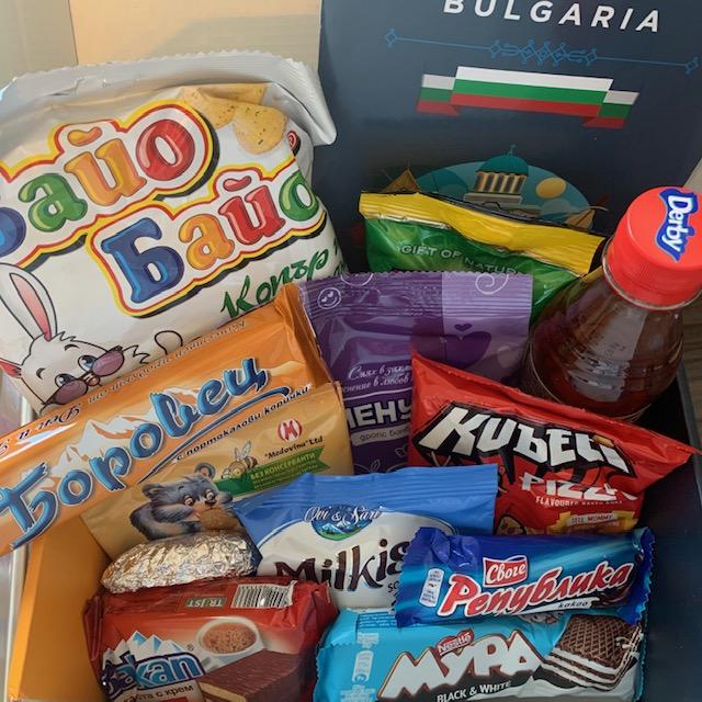 Snack Surprise Bulgaria contents