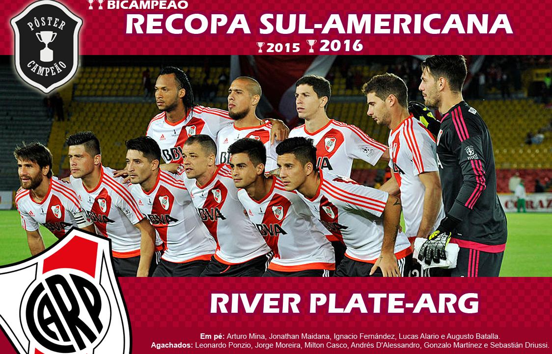 Museu Virtual do Futebol: Lista de Campeões... Recopa Sul-Americana
