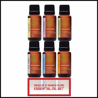 Reviewing an Essential Oil Holiday Set