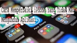 Cara Memperbaiki iPhone Yang Tidak Mau Mengunduh Aplikasi 1