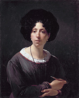 Autoportrait, Antoinette Cécile Hortense Haudebourt-Lescot