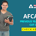 AFCAT Previous Years' Cut Offs: Check Here