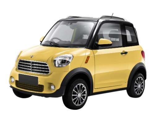 New Style Electric Vehicles Mini Cars Small Sports Car With EEC Approved 4 Seat 2 Door M1