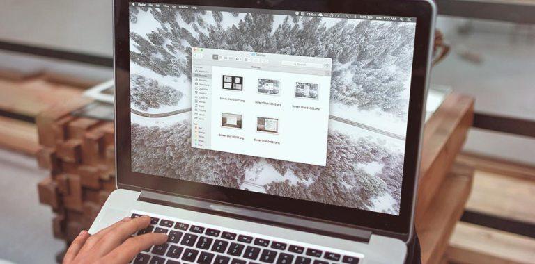 FINDER, File Explorer on MacBook