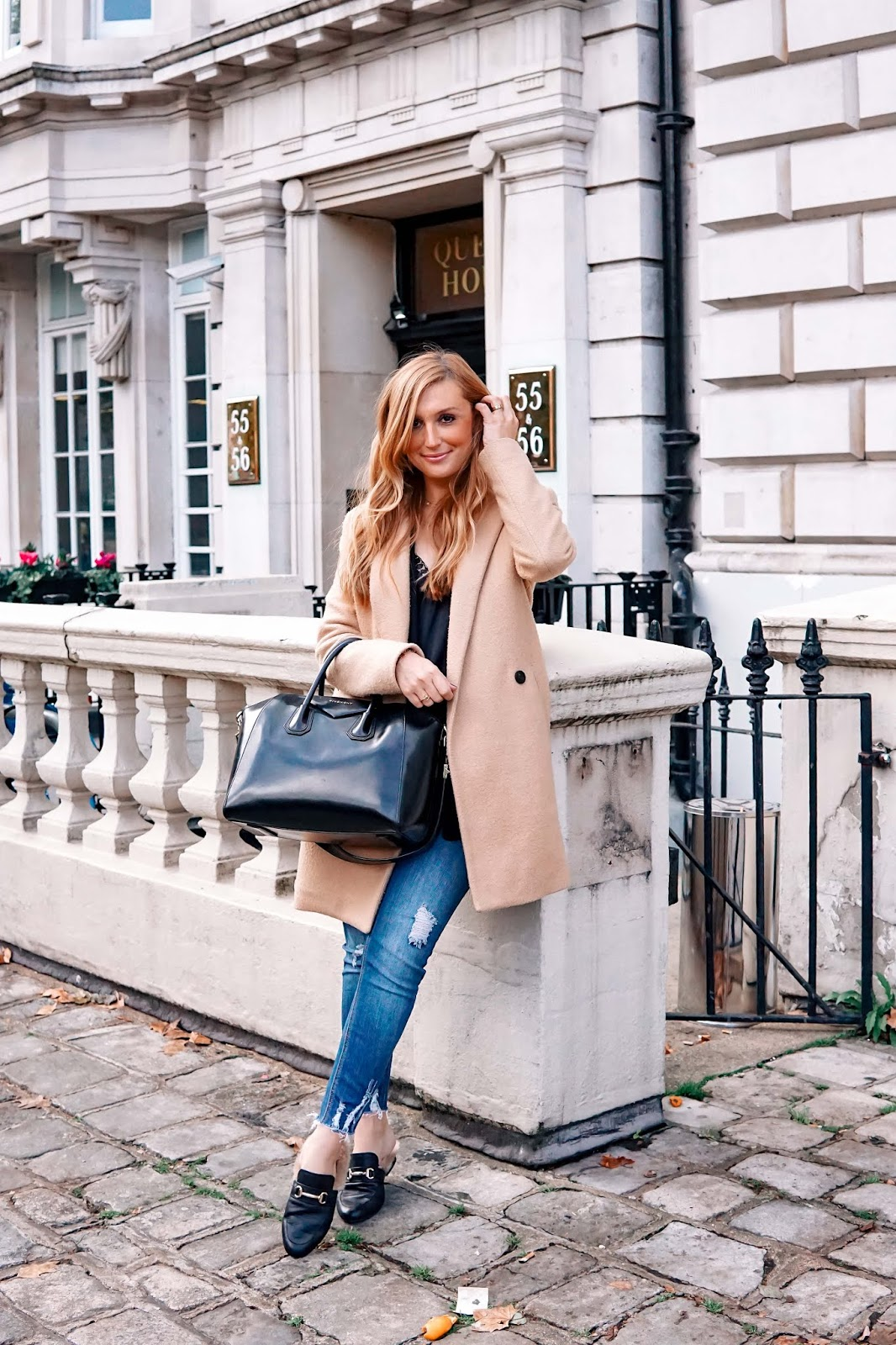 London Streetstylelook - fashionstylebyjohanna -Gucci Look a like Loafer / Gucci Dupes