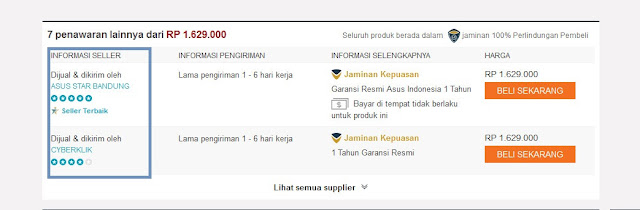 Pengalaman Belanja Hp Smartphone Secara Online Di Lazada Group - Toko Online Indonesia