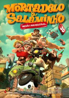Mortadelo e Salaminho 3D: Missão Inacreditável  - filme