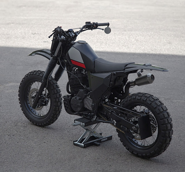Honda NX650 By The Differs Hell Kustom