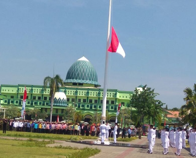 Sukses Paskibra Kibarkan Bendera Merah Putih