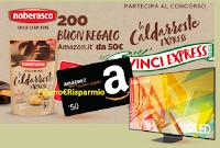 """Concorso Noberasco """"Caldarroste"""" : in palio 200 buoni Amazon da 50 euro e 2 TV Samsung 55"""""""
