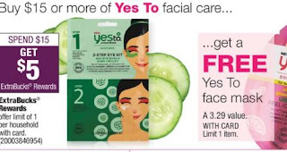 Yes To Facial Mask