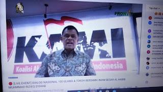 Jenderal Gatot Nurmantyo Puji HRS Seorang Nasionalis