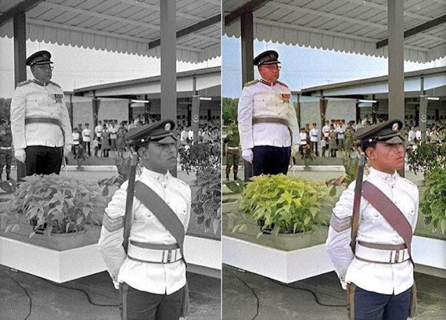 ColouriseSG:اداة عبر الإنترنت تلون الصور التي بالأبيض والأسود