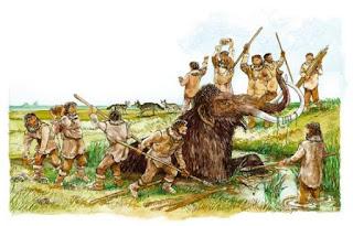la cattura di un mammut significava la sopravvivenza del gruppo