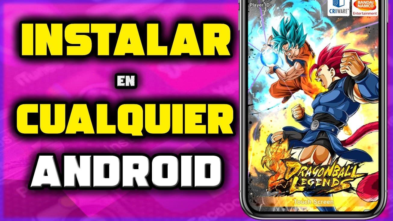 Instalar Dragon Ball Legends APK en Android
