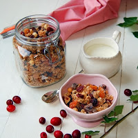 healthy home made muesli