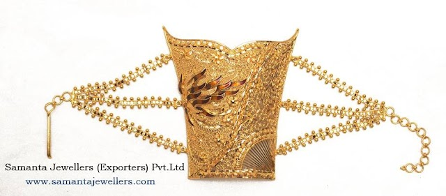 Latest Gold Bracelet Armlet Mantasha Designs
