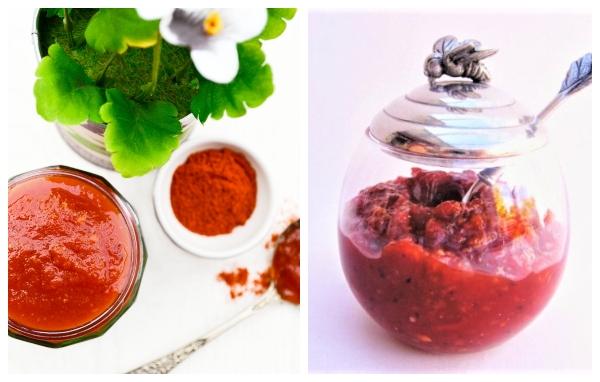 Vegan chilli jam