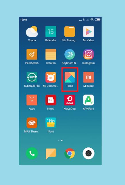 Mengembalikan Font Xiaomi ke Default
