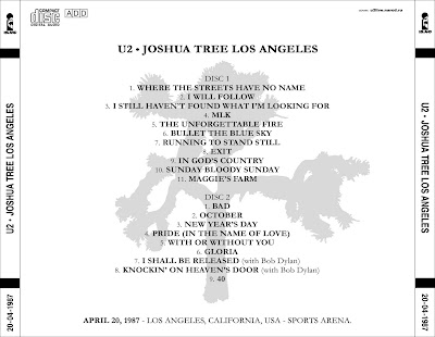 U2start com   U2 - 1987-04-20 - Los Angeles, CA (FLAC)