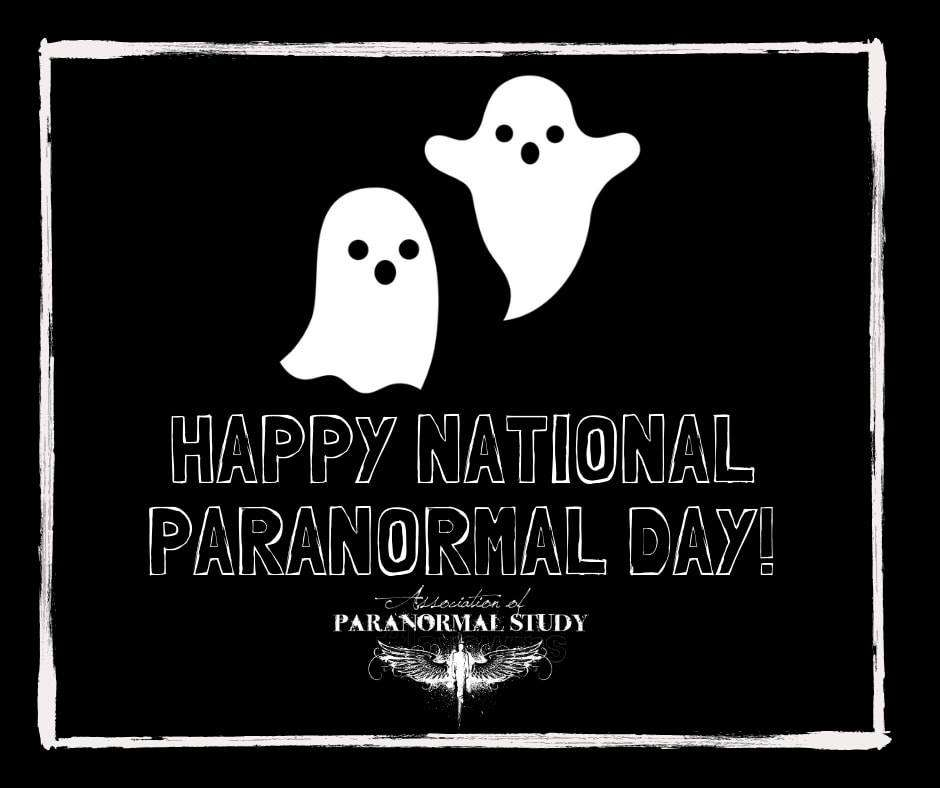 National Paranormal Day Wishes Sweet Images