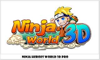 Download Ninja heroes World 3D Pro v2.1.17 Mod Apk Full Unlocked Terbaru